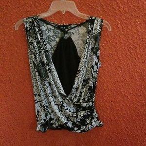 Sleeveless BCX Dress Shirt